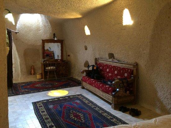 Gamirasu Cave Hotel: Bedroom
