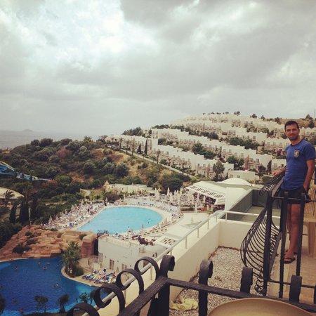Yasmin Resort Bodrum : 2502 numaralı odadan manzara