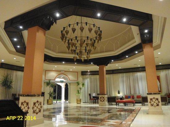 Jaz Fanara Resort & Residence : Рецепшн