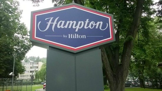 Hampton by Hilton Warsaw Airport: The Entrance