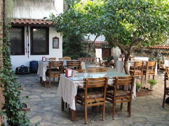 Hotel Nilya: Breakfast in the garden