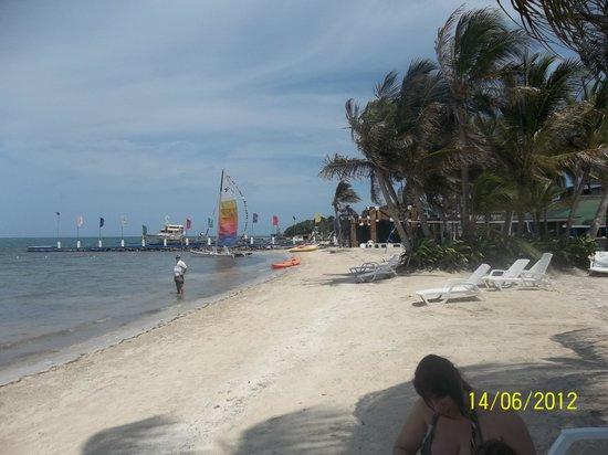 Decameron Marazul : muy feo el mar