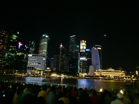 Central Business District : View from MBS
