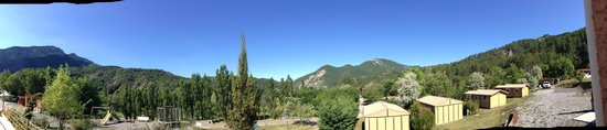 Clamensane, France : Panorama view of the surrounds