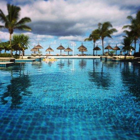 Heritage Le Telfair Golf & Spa Resort: la piscine chauffée