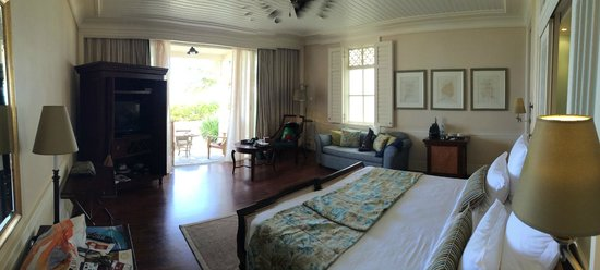 Heritage Le Telfair Golf & Spa Resort: la chambre