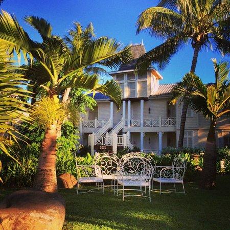 Heritage Le Telfair Golf & Spa Resort: jardin de l'hôtel