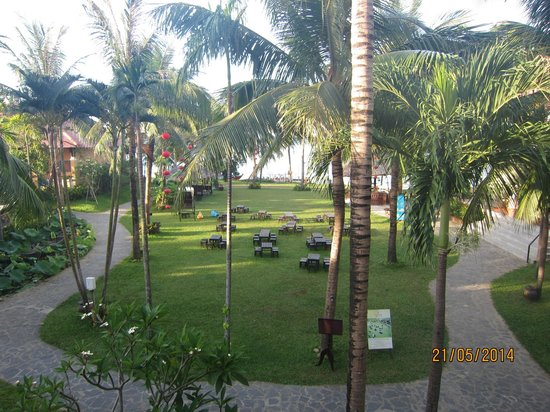 Vinh Hung Riverside Resort: Gathering space