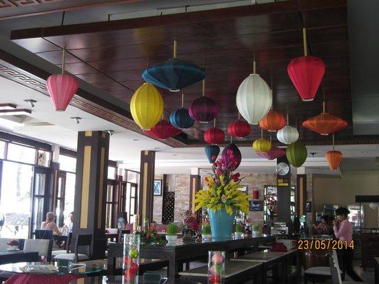 Vinh Hung Riverside Resort: Restaurant