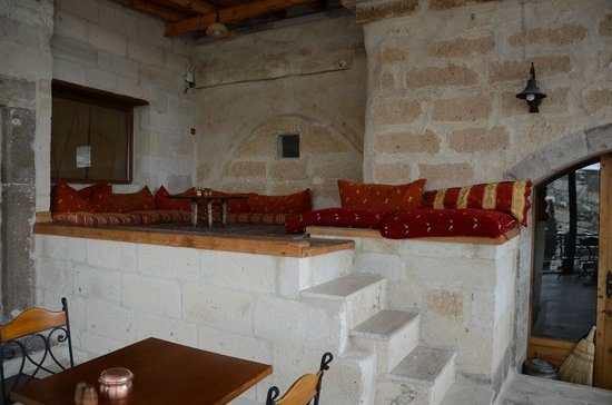 Kelebek Special Cave Hotel: THE relaxing area of the hotel