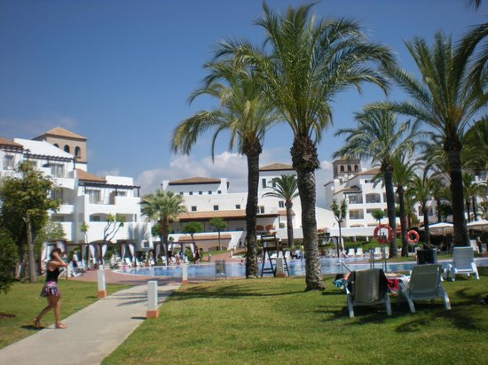 Club Marmara Marbella : retour de la plage