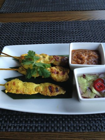 LAO THAI: Sai Teh (grilled chicken sticks)