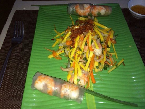 Little Hoian Boutique Hotel & Spa: My handiwork.  This is healthy. Easy to make. Nutritional And Delicious
