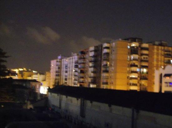 Hotel Silken Puerta Malaga: view