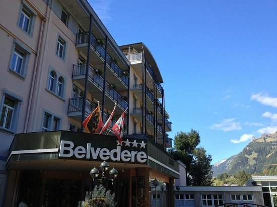 Belvedere Swiss Quality Hotel: 拍攝於check out當天,那天天氣相當晴朗少雲。