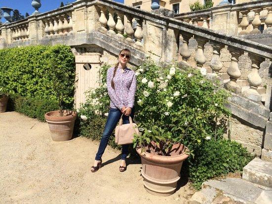Château de Flaugergues : Escalier du chateau