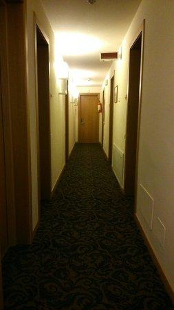 Venice Resort : Il corridoio delle stanze