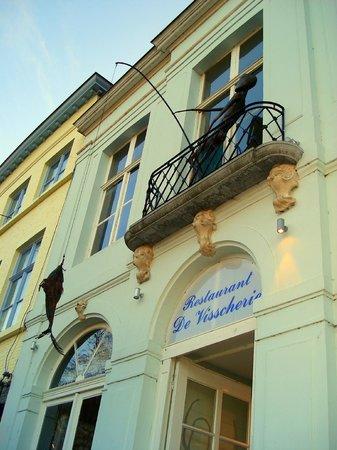 Grand-Place : Фасад рыбного ресторана