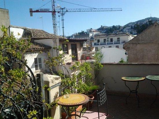 Casa de Federico: Terrasse