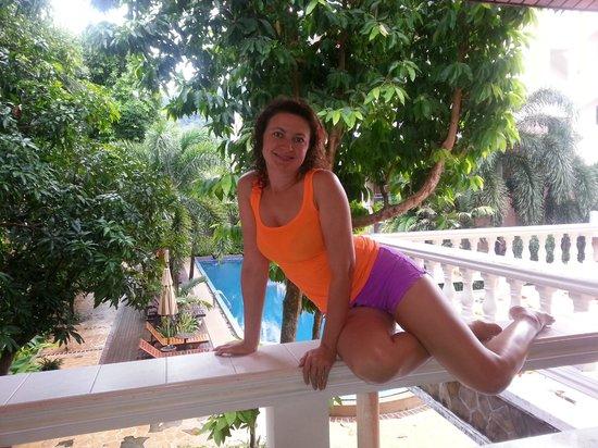 Thanthip Beach Resort : Хоть и простенько, но все равно красиво.