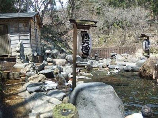 Kaikake Onsen: 貝掛温泉 露天風呂