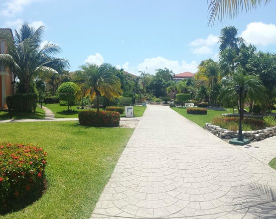 Ocean Maya Royale: Beautiful grounds