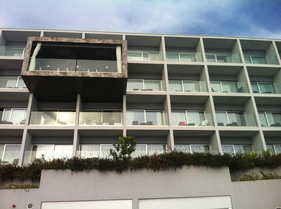 Hotel Split: Visto desde à praia