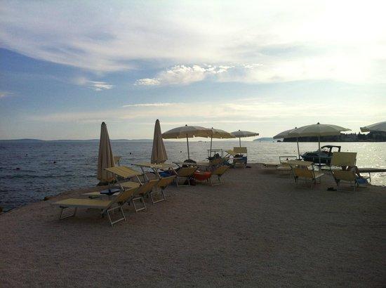 Hotel Split: A praia