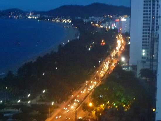 Novotel Nha Trang : night view from room