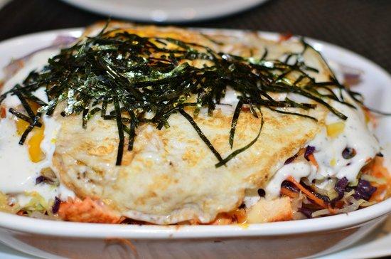 Palms l.a. Kitchen and Bar: Baked bibimbap