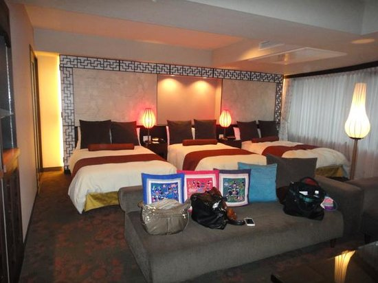 Rose Hotel Yokohama: ベット