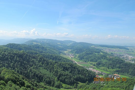 Uetliberg Mountain: UTO Kulm, top of the Uetliberg