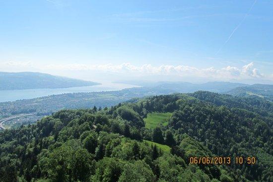 Uetliberg Mountain: UTO Kulm, top of the Uetliberg