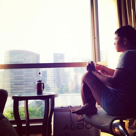 Sheraton Towers Singapore: My city view room