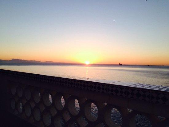 Caleta Hotel: Sunrise over the Med
