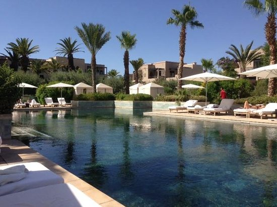 "Four Seasons Resort Marrakech: The ""Quiet"" Pool (basically adults only)"