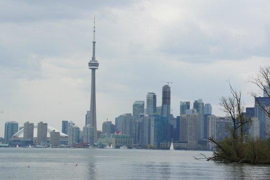 Toronto Islands: Het uitzicht op de skyline