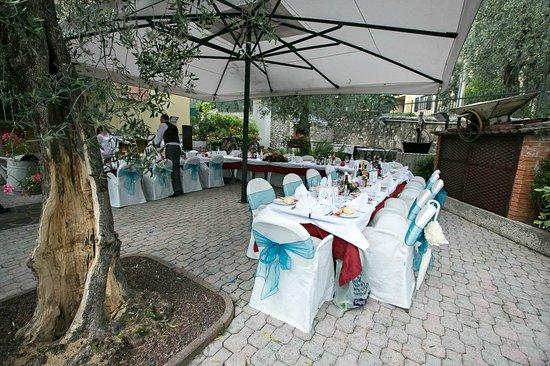 Wedding reception layout - Picture of Ristorante Pizzeria Al Cervo ...