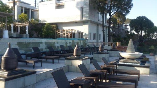 Moksha Himalaya Spa Resort: Pool View