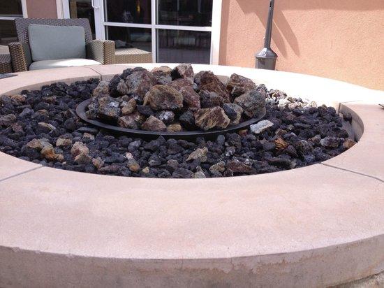 Residence Inn Stillwater: Firepit