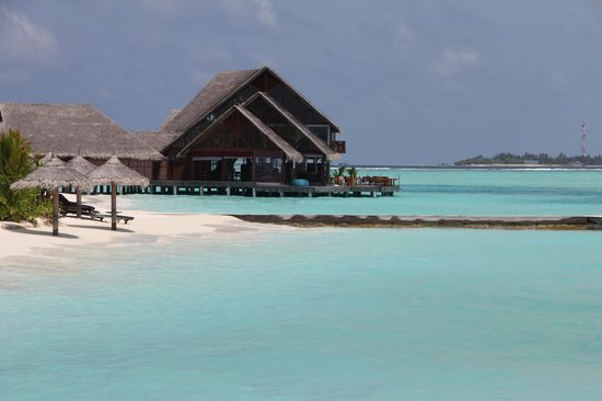 Anantara Dhigu Maldives Resort: One of the restaurant