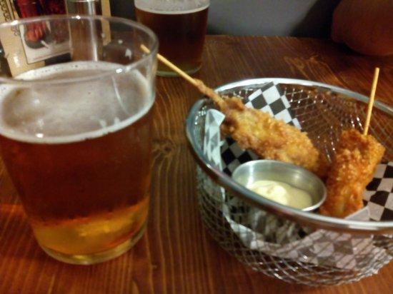 Al rojo vivo: Brocheta de pollo con salsa mostaza y miel