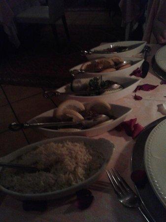 Basmati Restaurante Hindu: Selección de currys