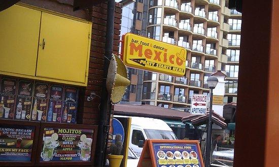 Mexico bar Sunny Beach