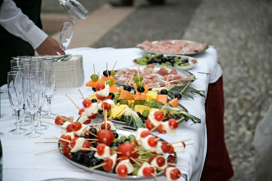 Ristorante La Pace : Lovely buffet style nibbles (wedding)