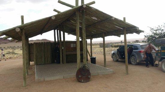 Sossus Oasis Camp Site : Campsite