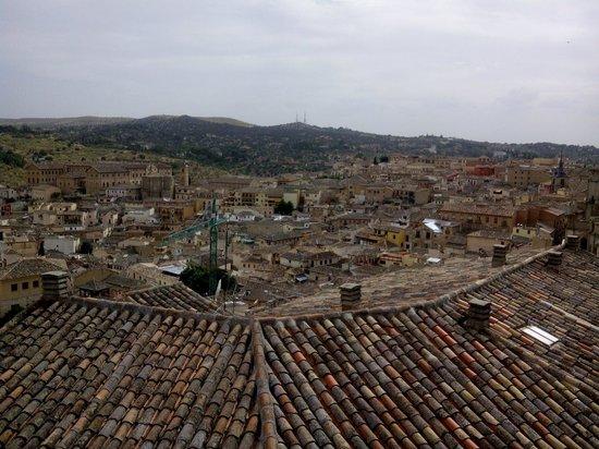 Hotel Alfonso VI: Panorámica desde la terraza de nuestra habitación
