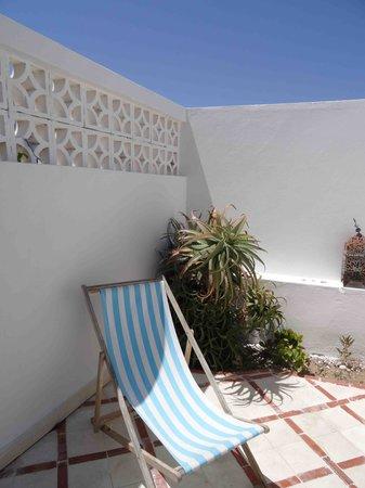 Hotel Villa Soleil: la terrasse privative
