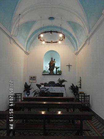 Chapel of Mare de Deu del Socors: Inside the Church