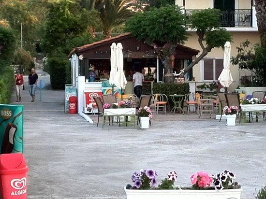 Mimosa Beach Bar : best beach bar in argasi